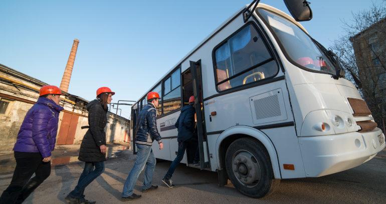 Перевозка сотрудников предприятий в Перми (доставка рабочих)